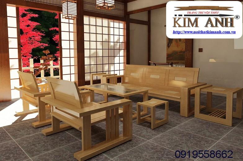 16 Sofa gỗ phòng khách. Sofa gỗ giá rẻ Vũng Tàu, Nha Trang