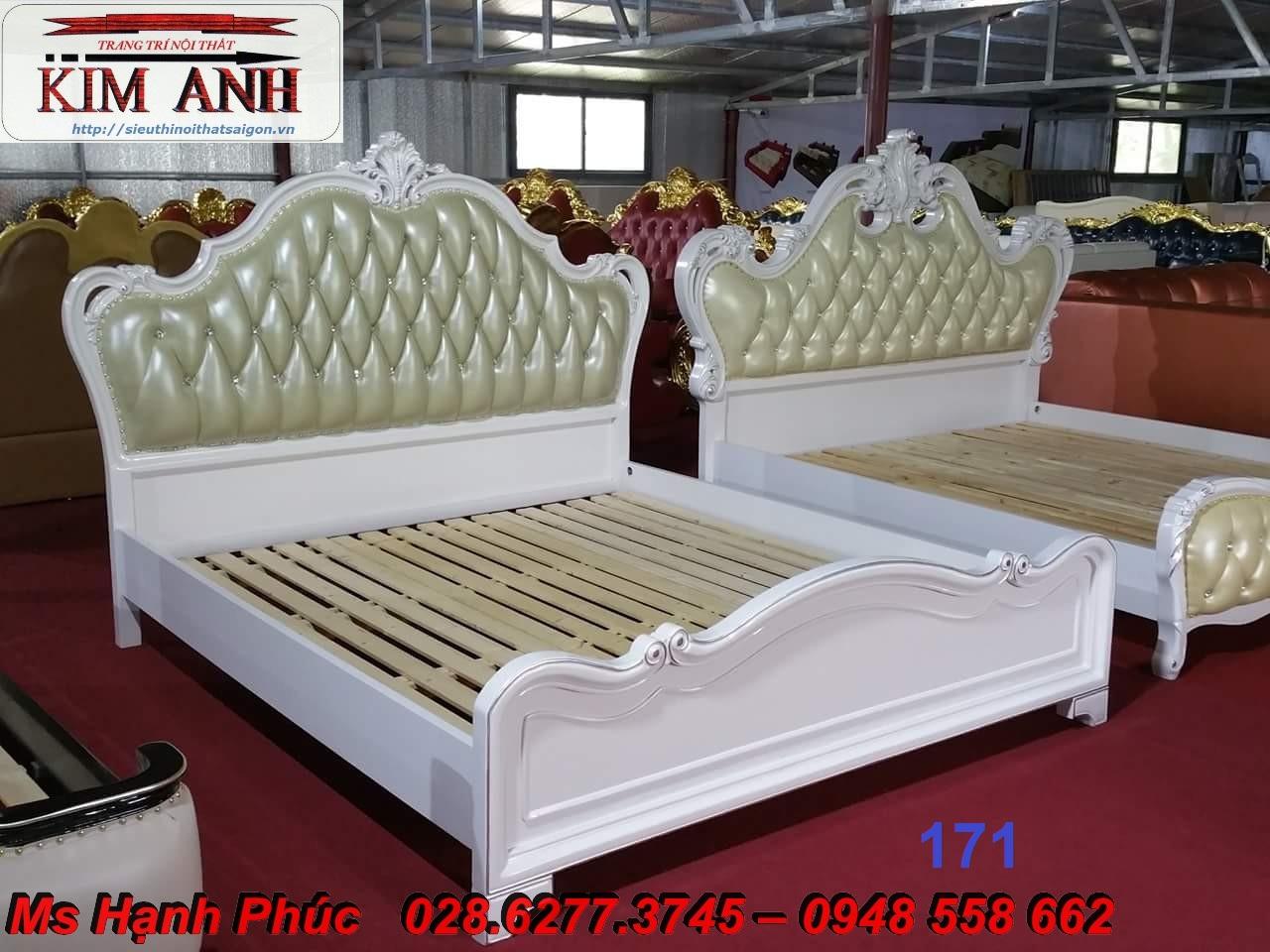11 Nơi bán giường ngủ cổ điển chính hãng sản xuất tại xưởng giá rẻ nhất gò vấp, bình dương