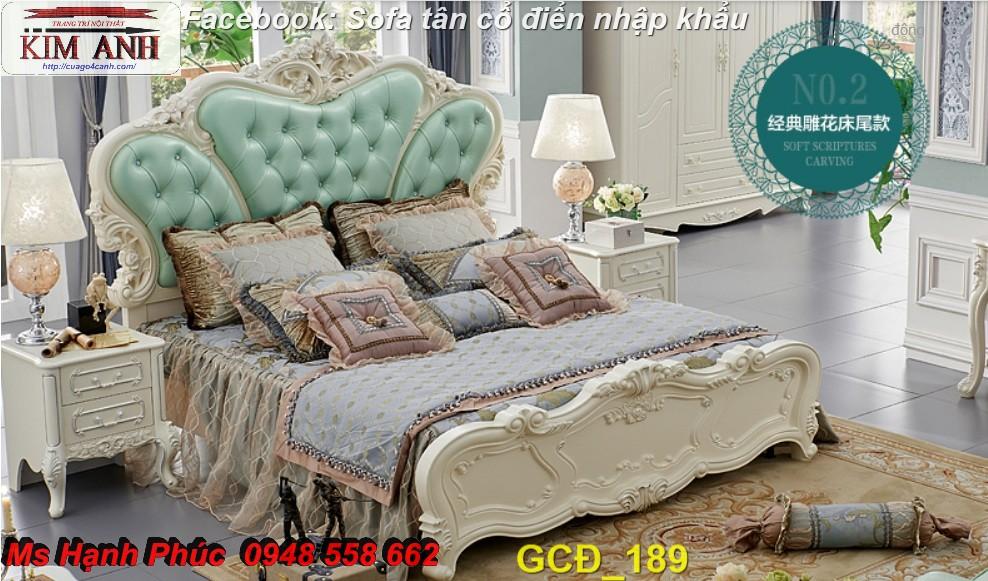 17 Nơi bán giường ngủ cổ điển chính hãng sản xuất tại xưởng giá rẻ nhất gò vấp, bình dương