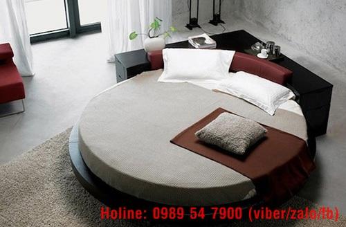 Giường tròn giá rẻ, nơi bán giường tròn giá rẻ tại Tp.HCM và Đồng Nai