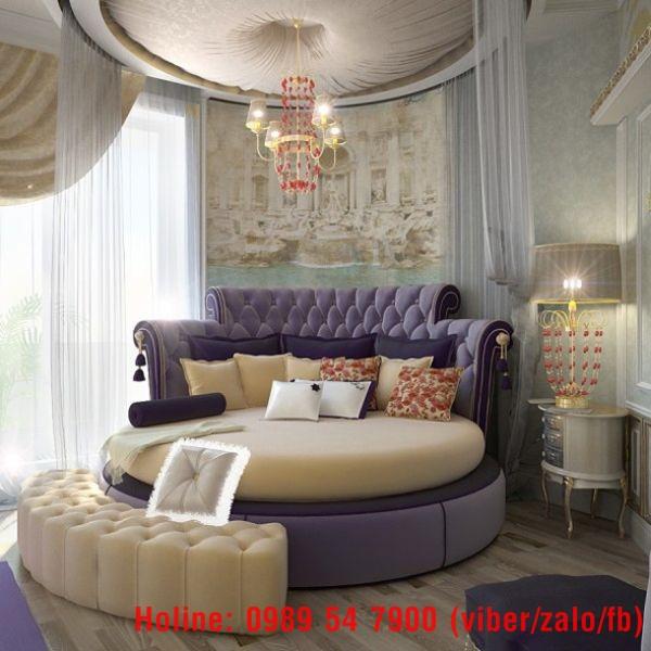 2 Giường tròn giá rẻ, nơi bán giường tròn giá rẻ tại Tp.HCM và Đồng Nai
