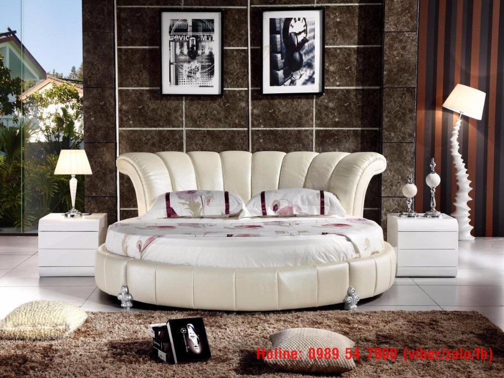 5 Giường tròn giá rẻ, nơi bán giường tròn giá rẻ tại Tp.HCM và Đồng Nai