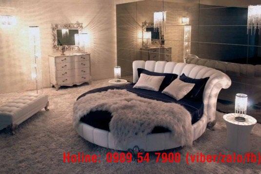 7 Giường tròn giá rẻ, nơi bán giường tròn giá rẻ tại Tp.HCM và Đồng Nai