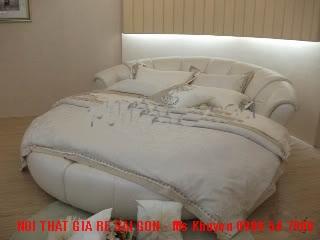 17 Giường tròn giá rẻ, nơi bán giường tròn giá rẻ tại Tp.HCM và Đồng Nai