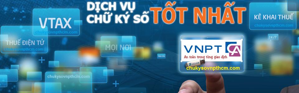 1 Khuyến mãi Chữ ký số VNPT-CA gói 3 năm chỉ 1.496.500đ