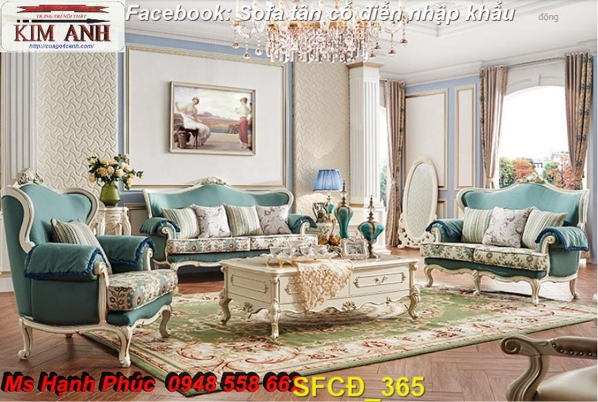11 Bật mí cách chọn bộ sofa phòng khách tân cổ điển cao cấp, chất lượng - Nội thất Kim Anh