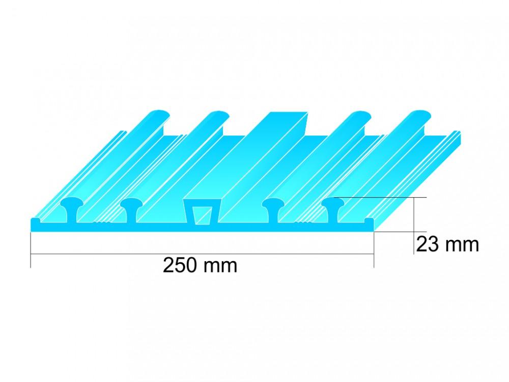 2 Tấm ngăn nước PVC giá rẻ.