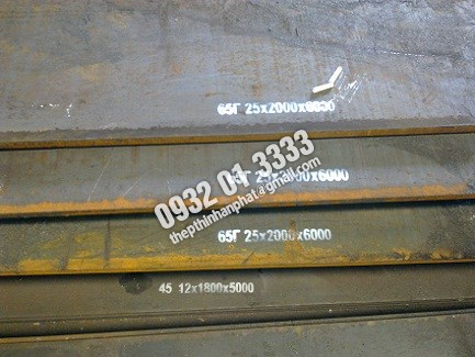 Thép tấm 65G, A36, S45C, Q235B, Q345B, A515, SB410, thép tấm chịu mài mòn cao