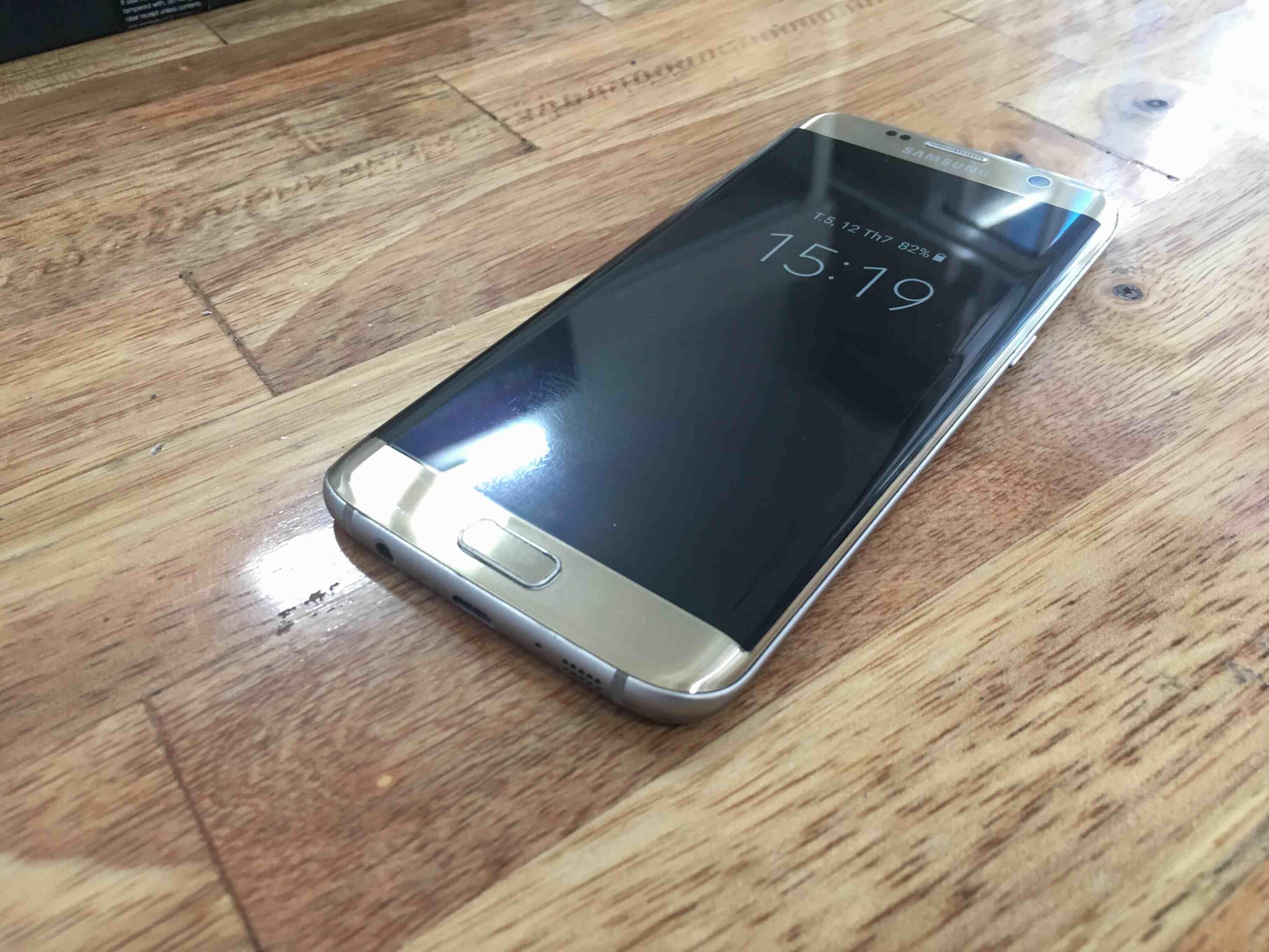 Bán Samsung S7 edge Vàng SSVN