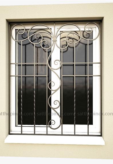 1 Mẫu cửa sổ sắt đơn giản, cửa sổ sắt phong cách hiện đại