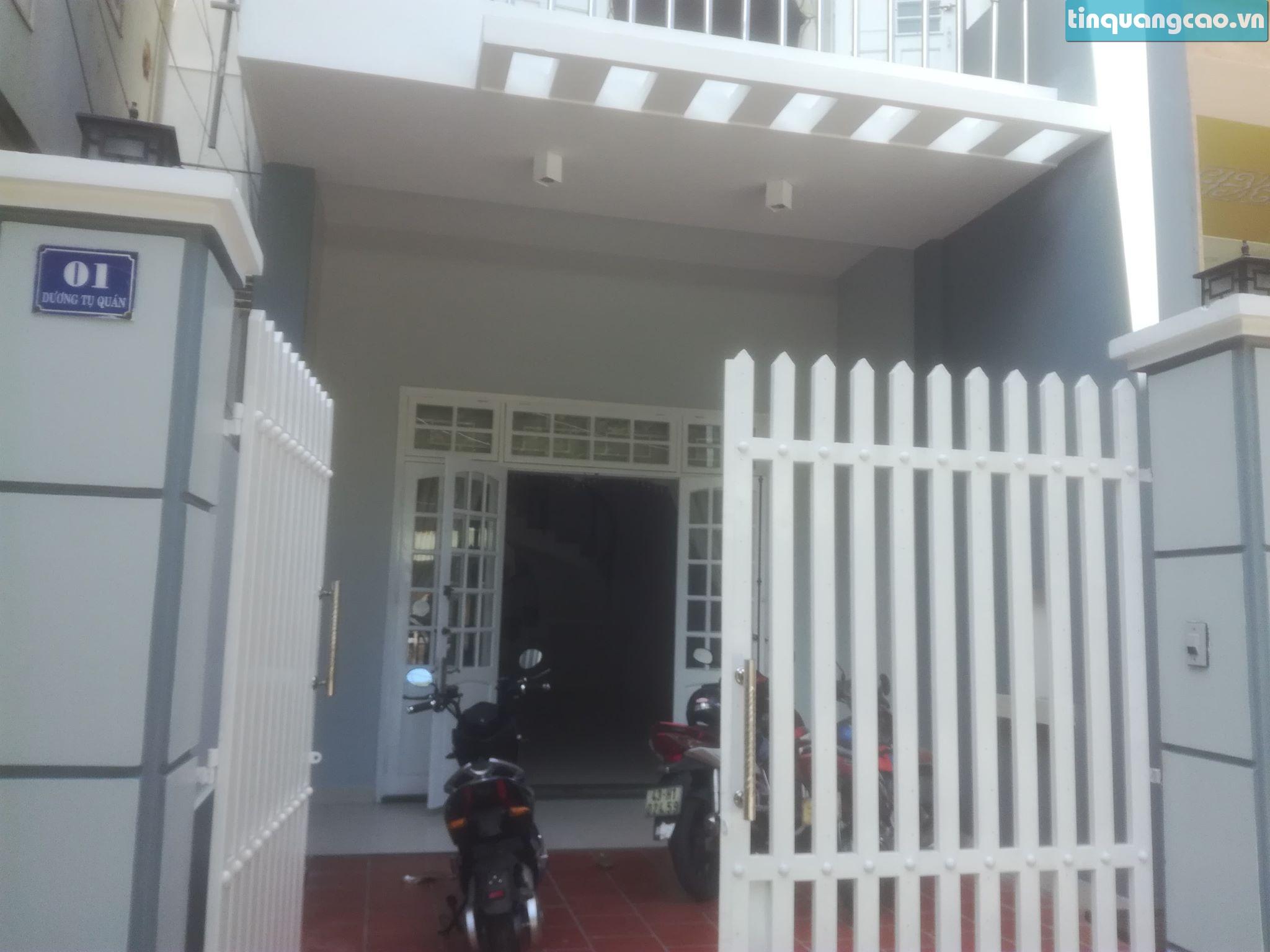 5 Cho thuê nhà mặt tiền số 1 đường Dương Tự Quán, phường Mỹ An, quận Ngũ Hành Sơn