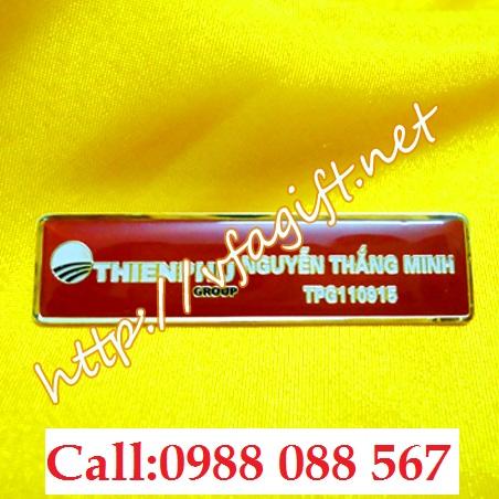 3 Cơ sở in thẻ tên đeo áo,xưởng làm thẻ tên nhân viên,thẻ tên bền đẹp,cung cấp thẻ tên