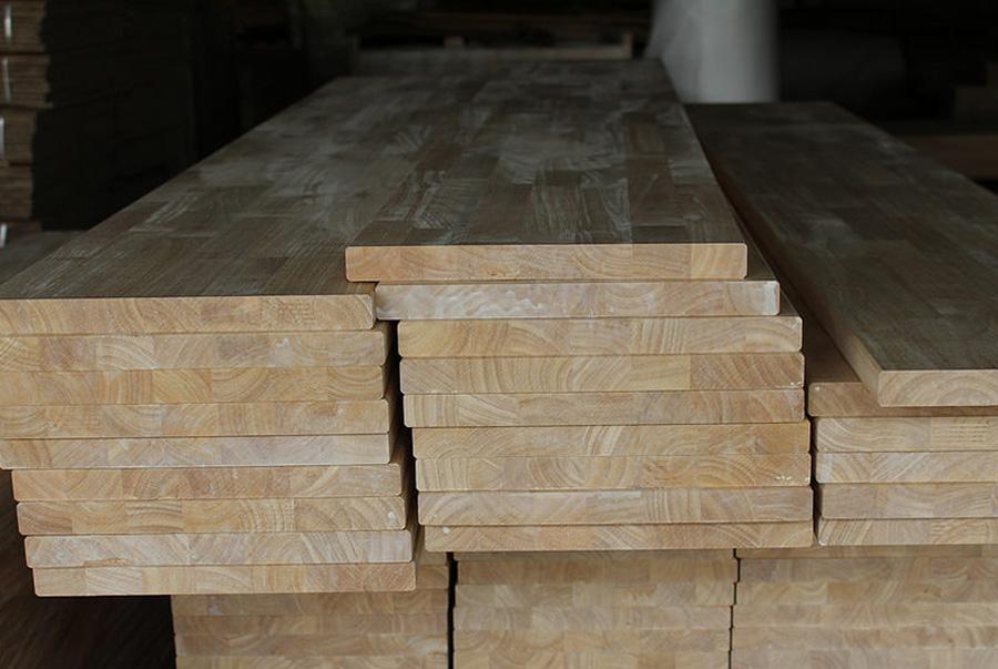 Sản xuất Gỗ ghép cao su, Gỗ ghép tràm, Gỗ ghép thông theo kích thước và chất lượng yêu cầu