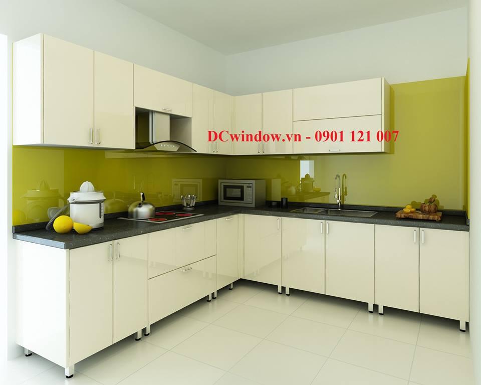 1 Kính màu ốp bếp thương hiệu DCWINDOW