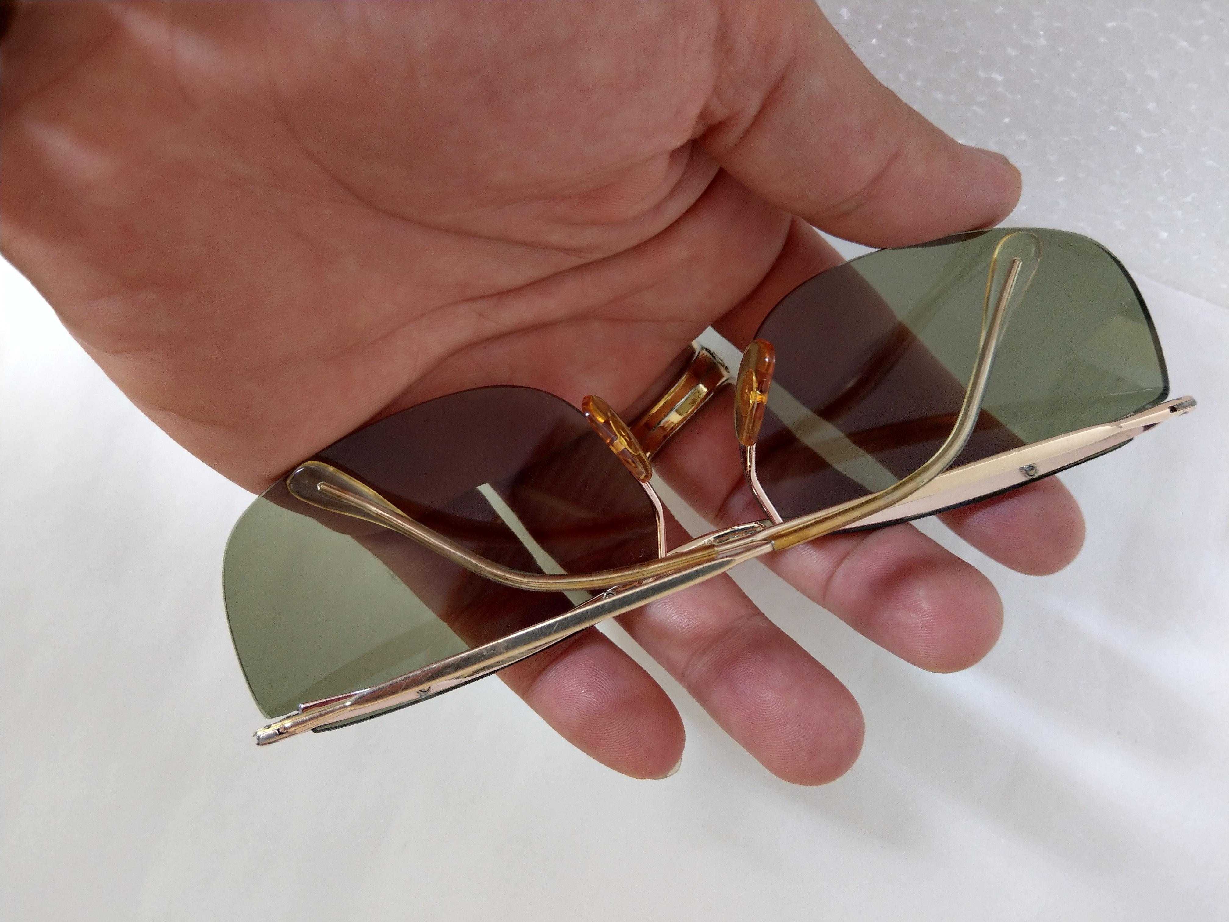 7 Kính Fildor bản to bọc vàng Made in France