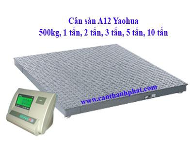 Cân sàn 5 tấn/1kg - 1,5x1,5m Yaohua Đài loan chính hãng