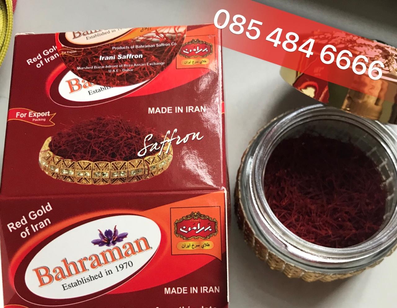 Vàng đỏ Iran - SAFFRON BAHRAMAN - nhụy hoa nghệ tây