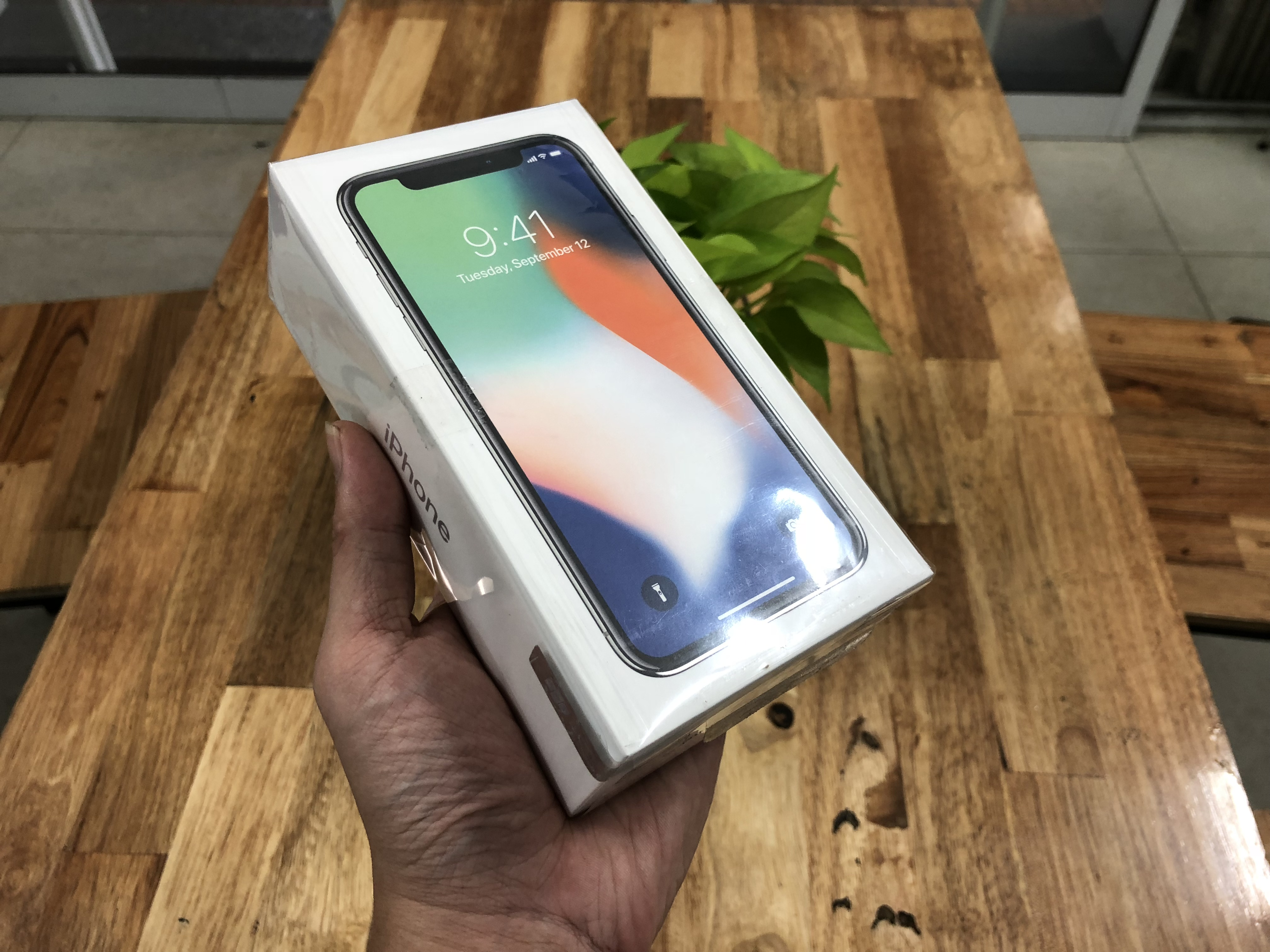 3 IPhone X 64Gb Trắng FPT Vn/a Mới 100  tại 2C MOBILE
