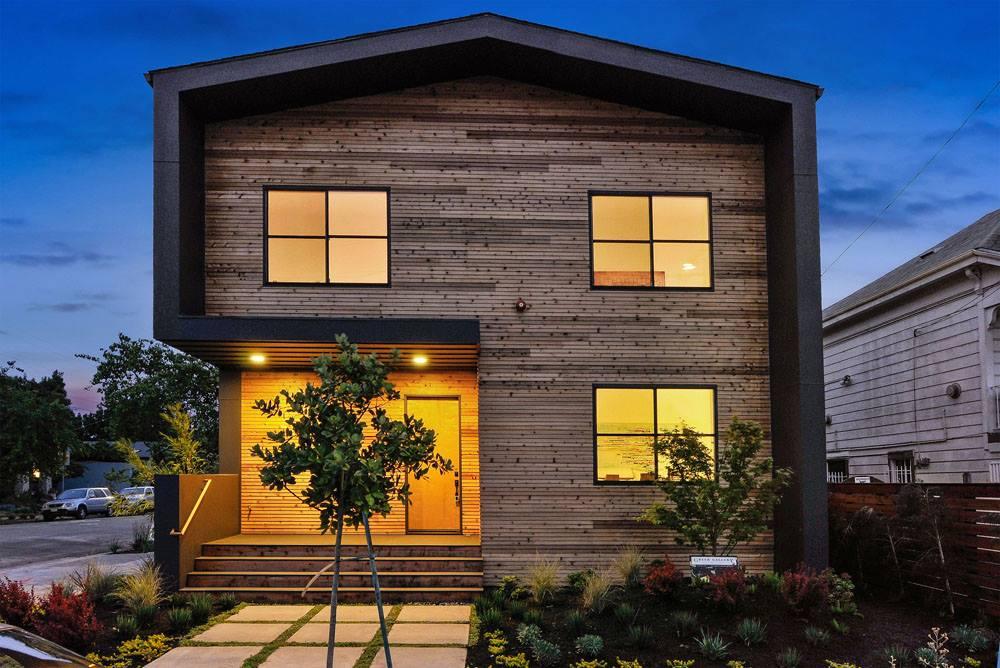 Được xây ở vùng thôn quê nhưng ngôi nhà này hiện đại gấp vạn lần những ngôi nhà trên thành phố