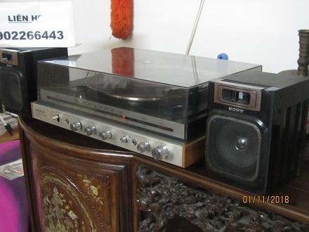 Đài quay đĩa Stereo Sony của nhật   có ảnh thật