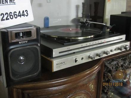 2 Đài quay đĩa Stereo Sony của nhật   có ảnh thật