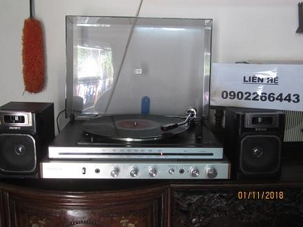 3 Đài quay đĩa Stereo Sony của nhật   có ảnh thật