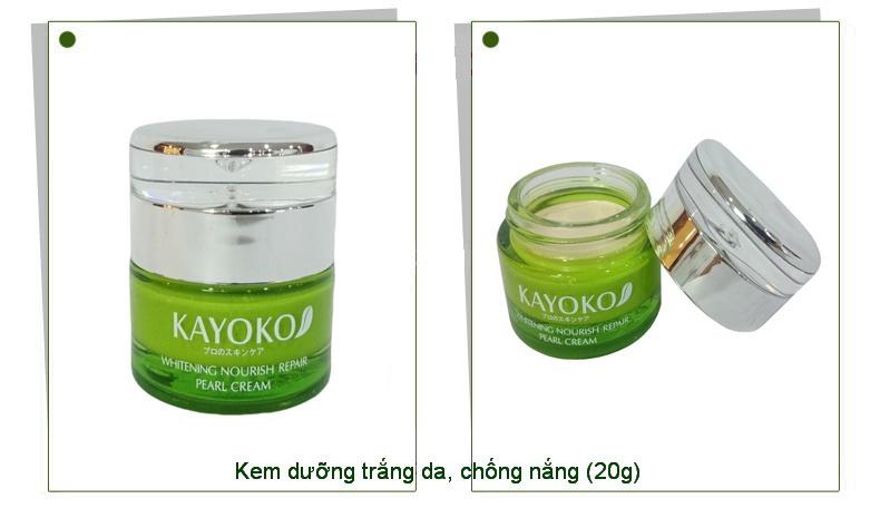 3 Kayoko, Mỹ phẩm kayoko 5in1 trị nám, tàn nhang kết hợp trắng da