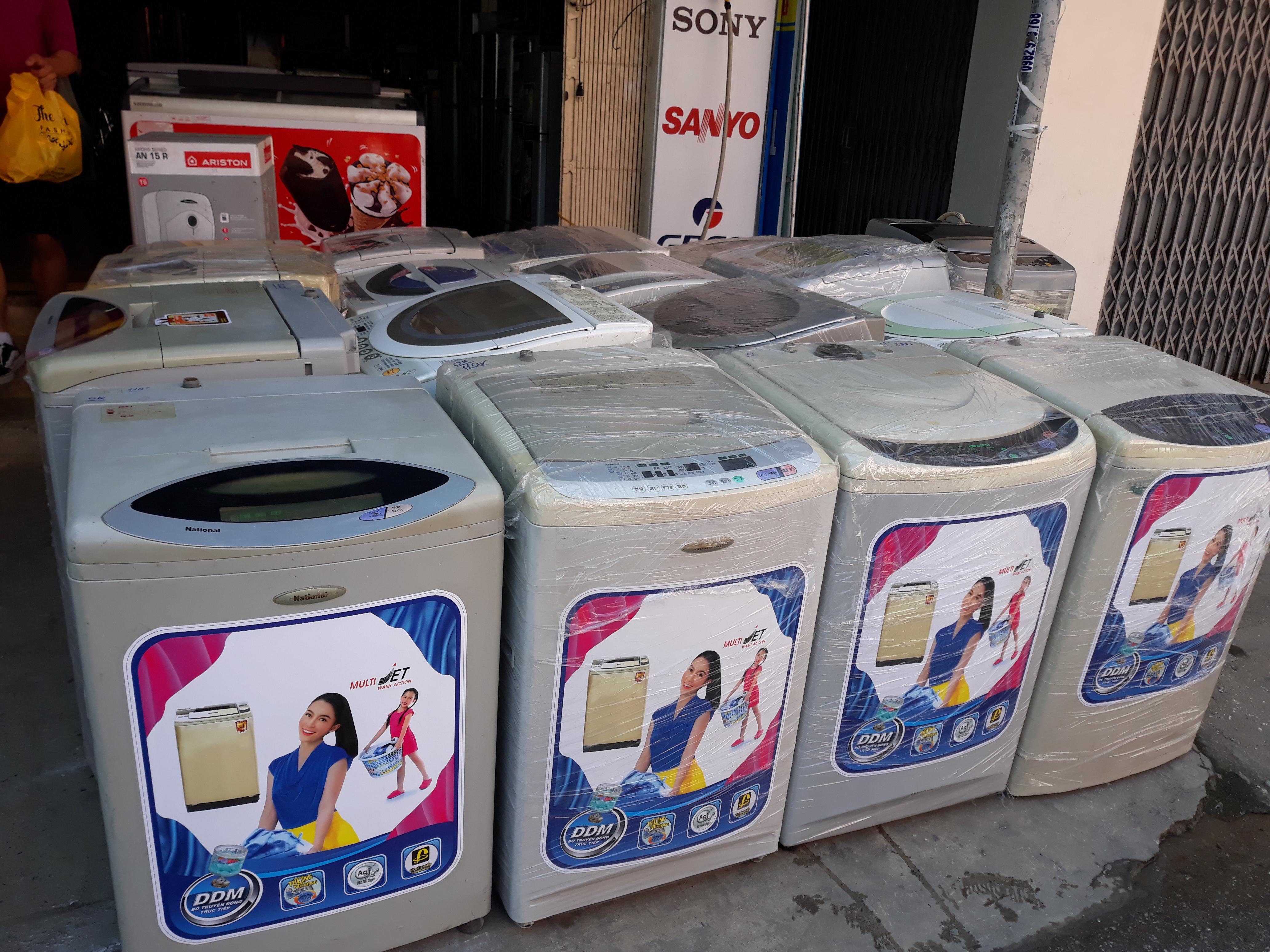 1 Thanh lý lô máy giặt giá buôn 1350k/máy (mua từ 5 máy)