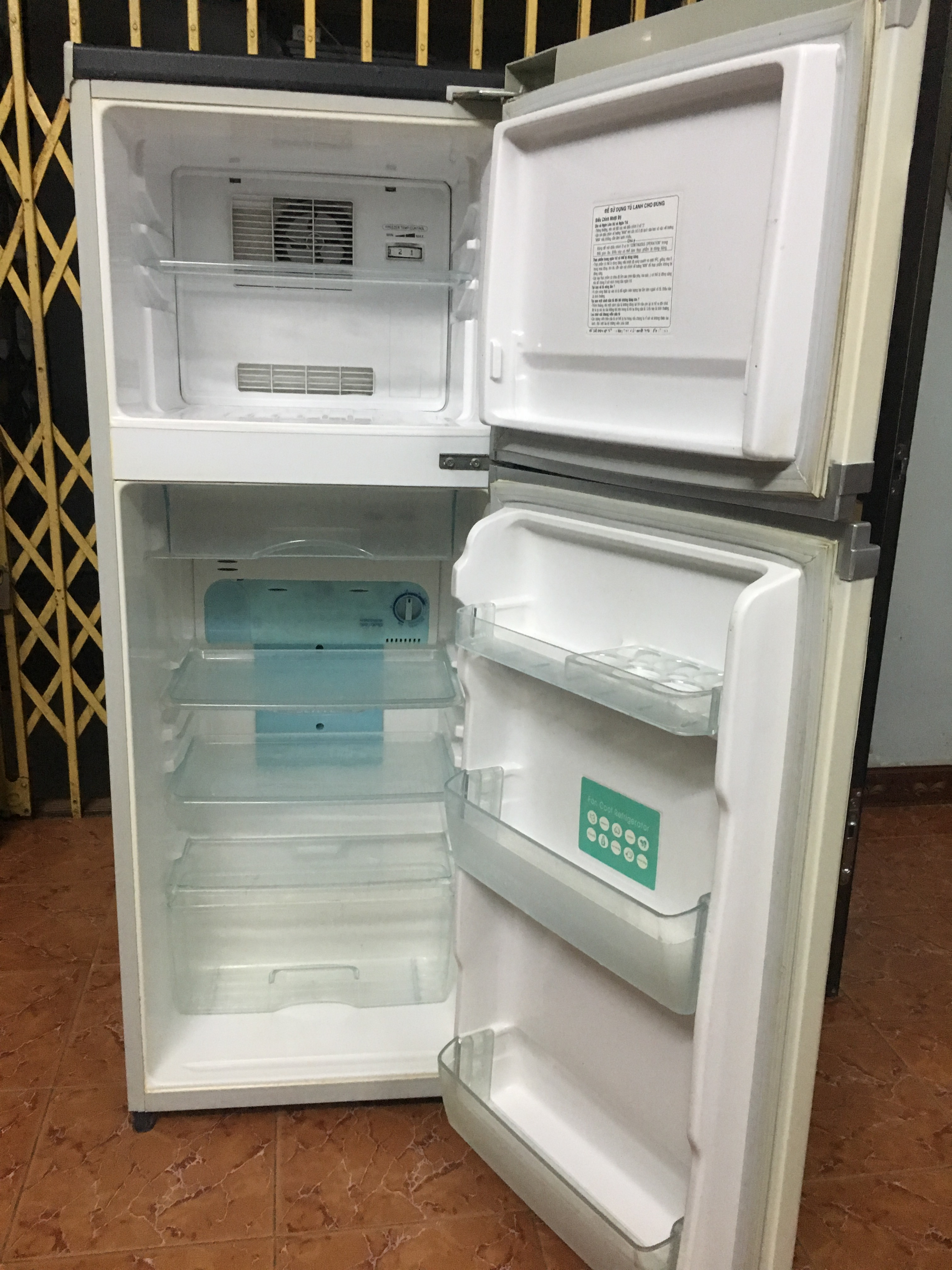1 Tủ lạnh toshiba 160l ga lốc nguyên bản
