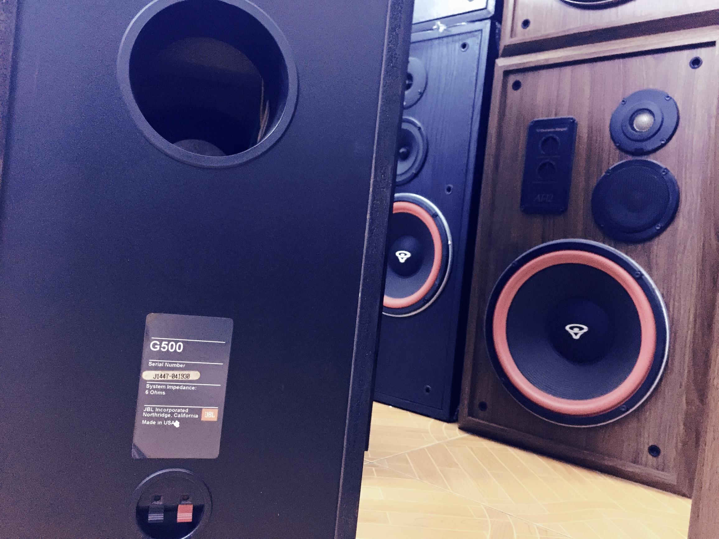 4 Loa JBL G500 2 bass điện uy lực treb tơi nhuyễn
