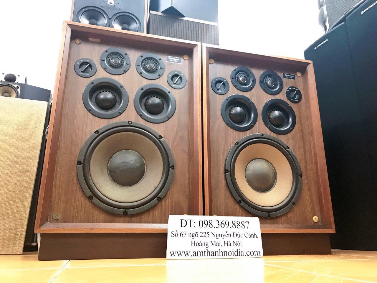 5 Loa cổ Technics SB700 thùng 5 loa nghe nhạc vàng tuyệt hay