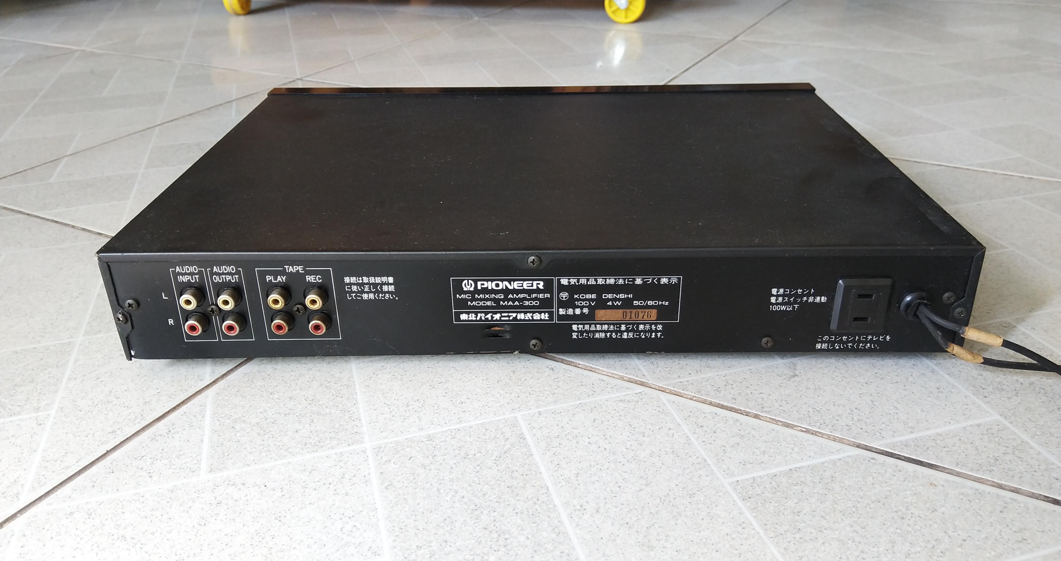 7 Mixer Pioneer Made in Japan hát karaoke gia đình hay