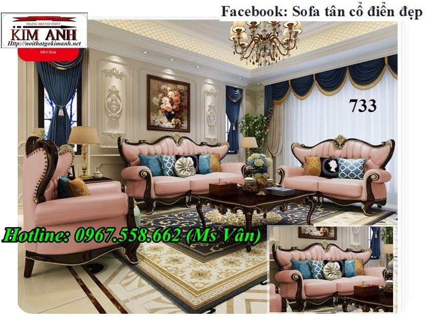 16 Nơi bán sofa cổ điển đặt đóng siêu đẹp, uy tín, chất lượng