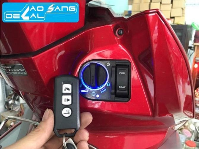 khóa Smart Key của xe air blade
