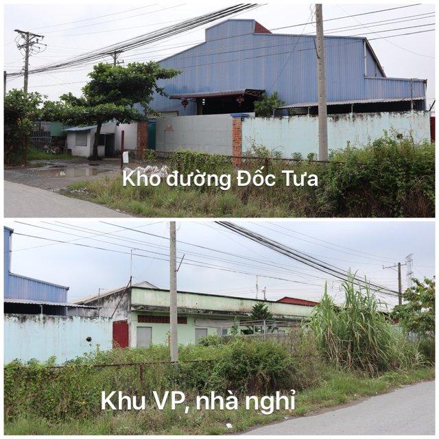 5 Chính chủ cần bán đất, kho xưởng 8.400m2 huyện Bến Lức, Long An.
