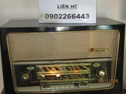 1 Chiếc radio đèn: Rigoletto giá tốt của Đức   có ảnh thật