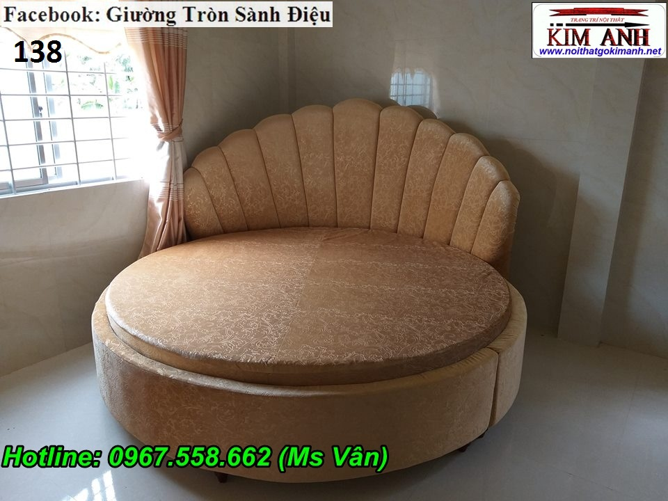 8 Chuyên bán giường ngủ hình tròn cực đẹp thiết kế theo yêu cầu