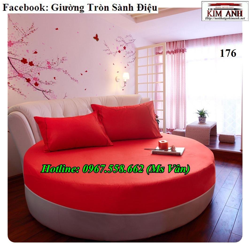15 Chuyên bán giường ngủ hình tròn cực đẹp thiết kế theo yêu cầu