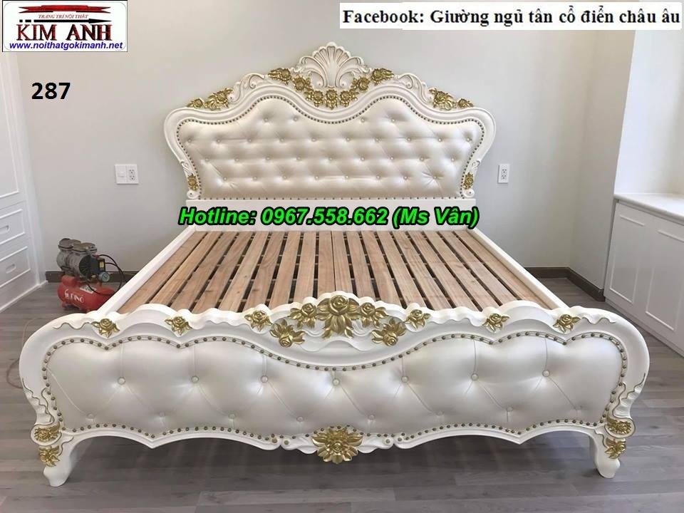 11 Giường ngủ cổ điển châu âu giá rẻ - những mẫu giường cổ điển đẹp