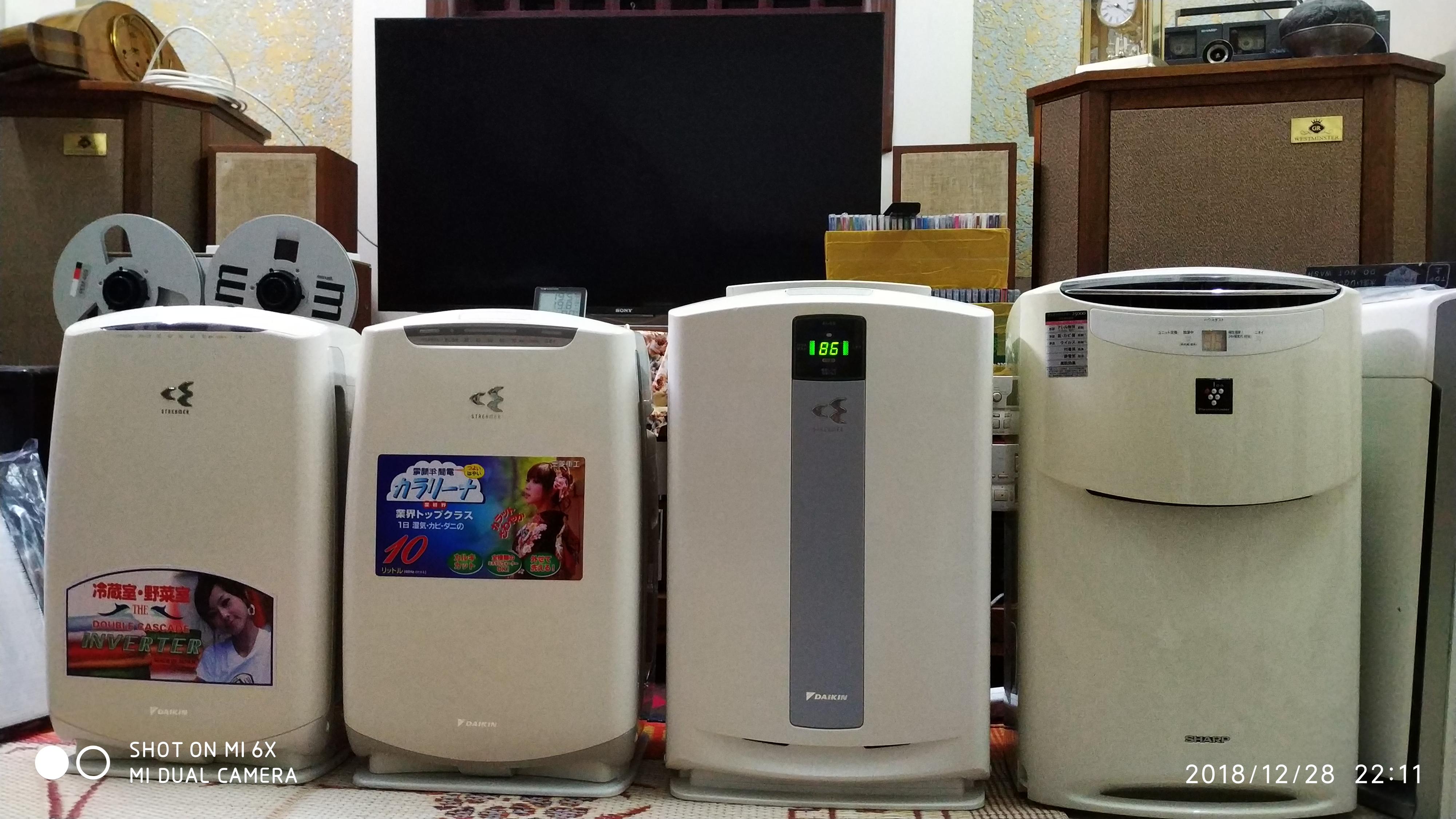 Bán máy lọc không khí hút mùi hôi và bù ẩm