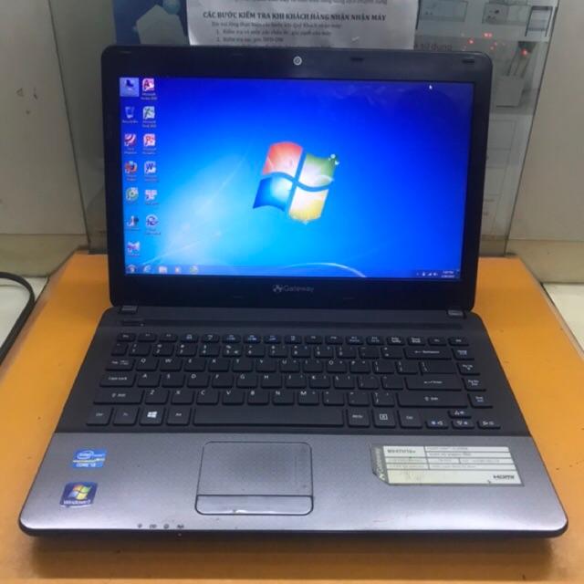 Laptop Gateway NV47H16v- Intel Core i3-2350M 2.3GHz, 2GB RAM, 500GB HDD - Máy đẹp , giá rẻ.