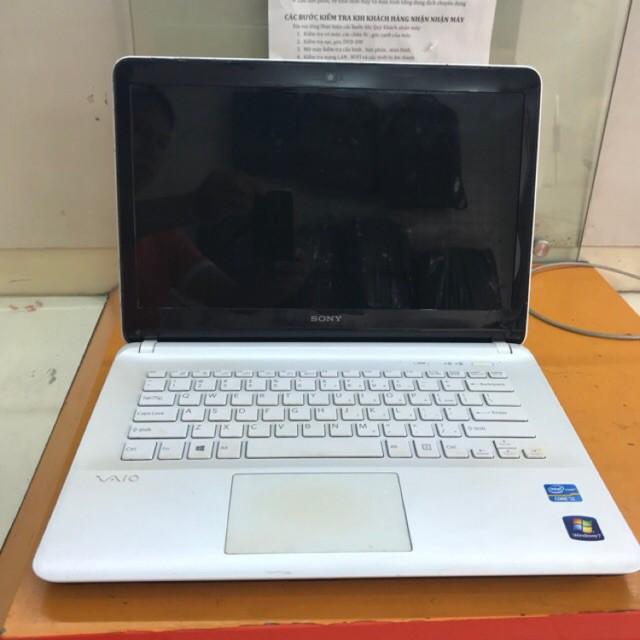 Máy Sony Vaio Fit 14E SVF-1421QSG/W Intel Core i3-3217U 1.8GHz, 2GB RAM, 750GB HDD - Hàng đẹp , Rẻ