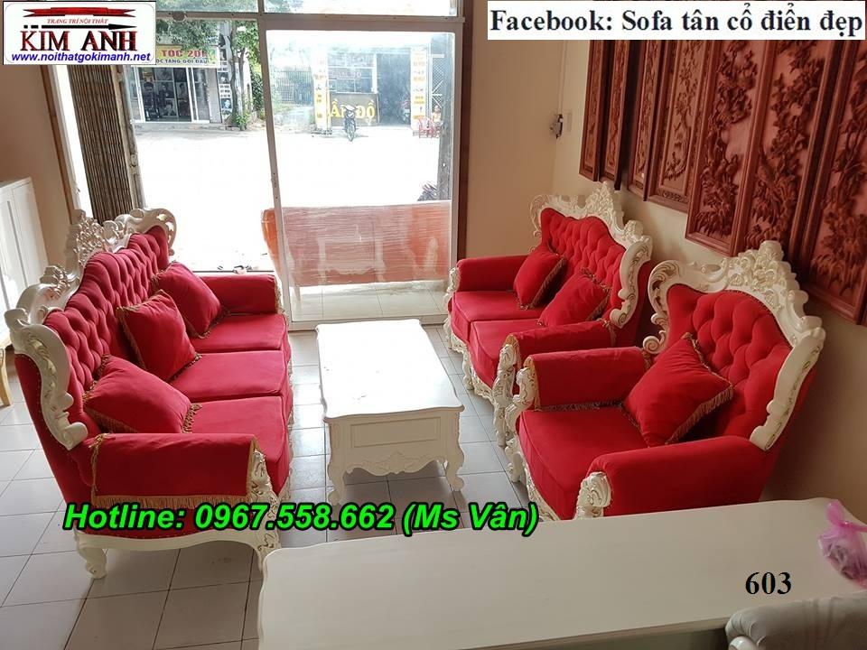 2 Mẫu sofa cổ điển cực sang trọng đẳng cấp đặt đóng tại xưởng