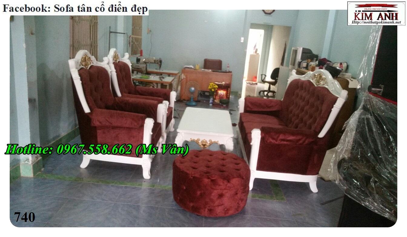 3 Mẫu sofa cổ điển cực sang trọng đẳng cấp đặt đóng tại xưởng