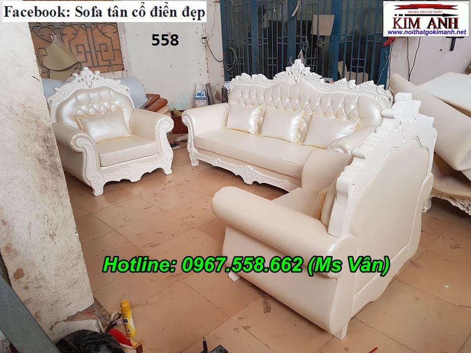 4 Mẫu sofa cổ điển cực sang trọng đẳng cấp đặt đóng tại xưởng