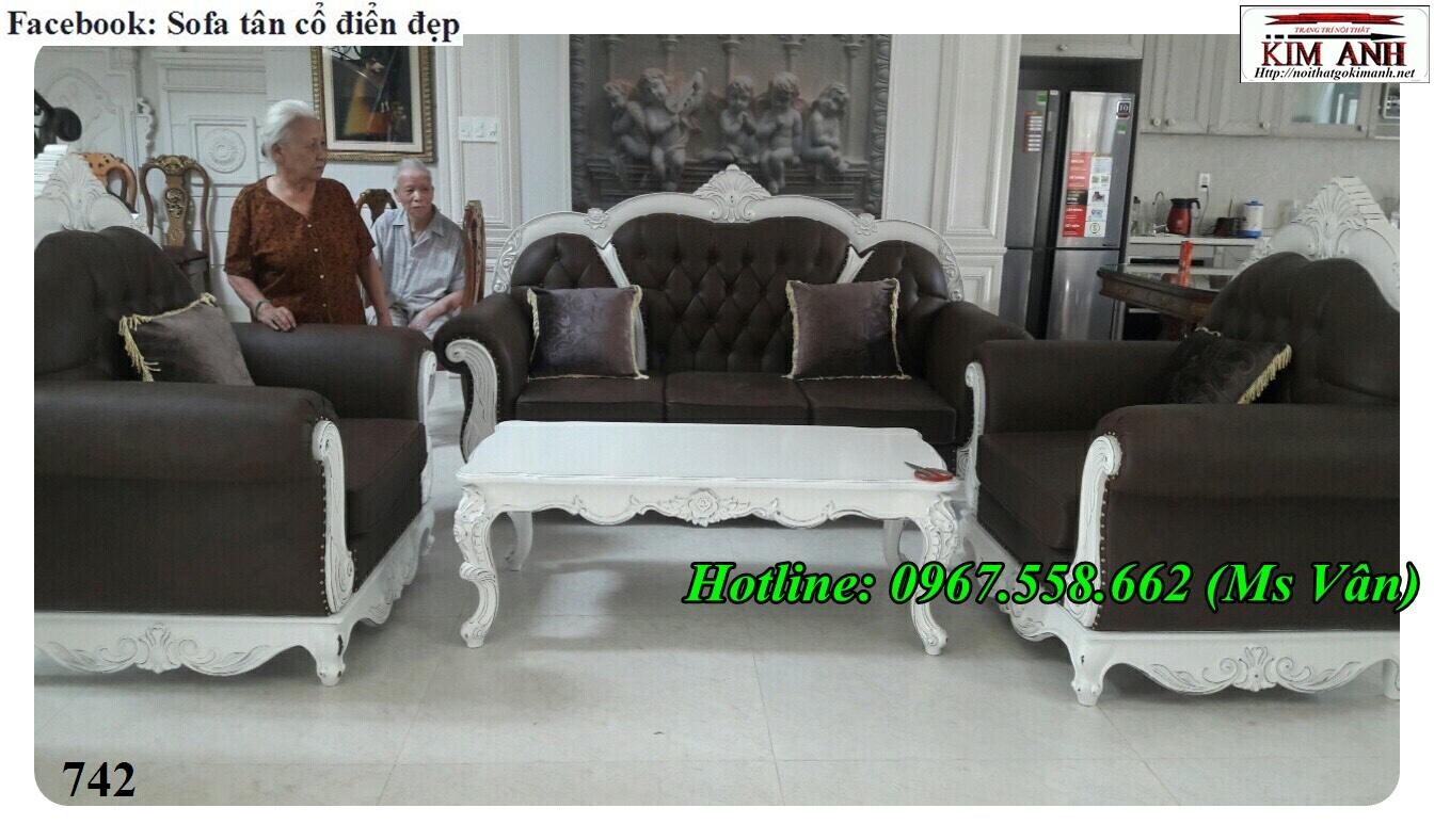 8 Mẫu sofa cổ điển cực sang trọng đẳng cấp đặt đóng tại xưởng