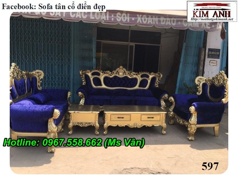 10 Mẫu sofa cổ điển cực sang trọng đẳng cấp đặt đóng tại xưởng