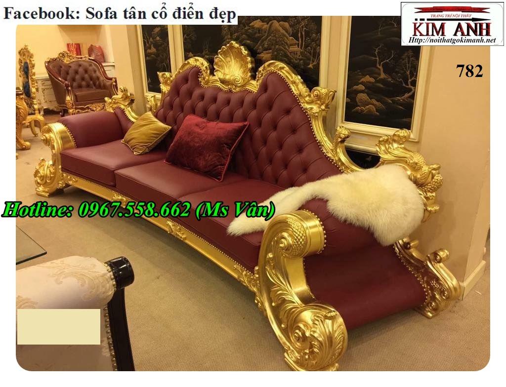 13 Mẫu sofa cổ điển cực sang trọng đẳng cấp đặt đóng tại xưởng