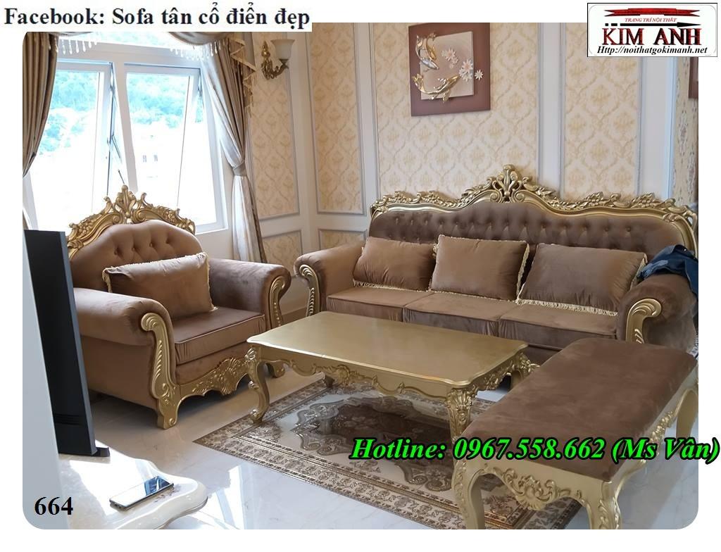15 Mẫu sofa cổ điển cực sang trọng đẳng cấp đặt đóng tại xưởng
