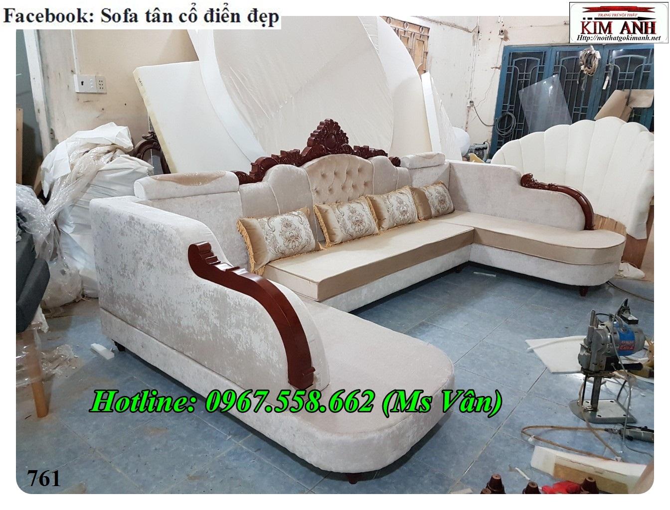 16 Mẫu sofa cổ điển cực sang trọng đẳng cấp đặt đóng tại xưởng